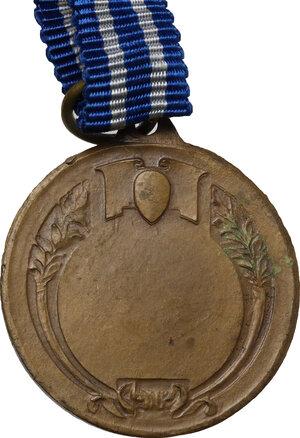reverse: Benito Mussolini (1883-1945).. Medaglia premio con l effige del Duce