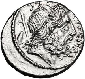 obverse: M. Nonius Sufenas.. AR Denarius, 59 BC