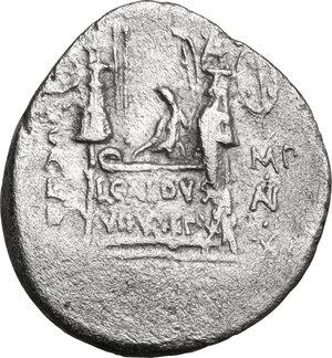 reverse: C. Coelius Caldus.. AR Denarius, 51 BC