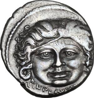 obverse: L. Plautius Plancus.. AR Denarius, 47 BC