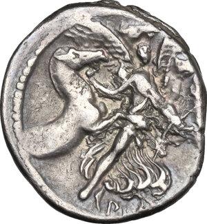 reverse: L. Plautius Plancus.. AR Denarius, 47 BC