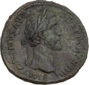 obverse: Antoninus Pius (138-161).. AE Sestertius, 150-151 AD