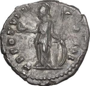 Marcus Aurelius as Caesar (139-161).. AR Denarius, 154-155