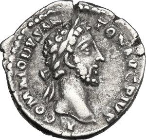 obverse: Commodus (177-192).. AR Denarius, 183 AD