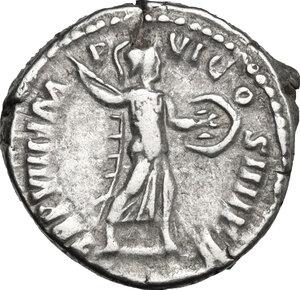 reverse: Commodus (177-192).. AR Denarius, 183 AD