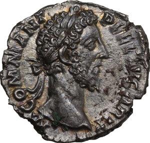 obverse: Commodus (177-192).. AR Denarius, Rome mint, 187 AD
