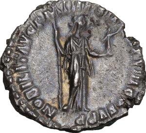 reverse: Commodus (177-192).. AR Denarius, Rome mint, 187 AD