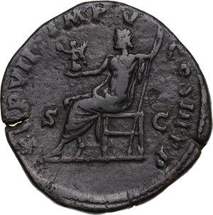 reverse: Commodus (177-193).. AE Sestertius, 182 AD
