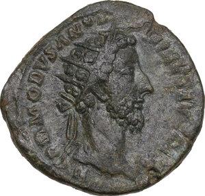 obverse: Commodus (177-192).. AE Dupondius, Rome mint, 183 AD