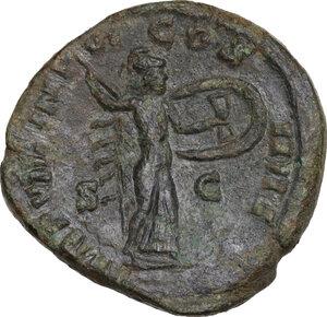reverse: Commodus (177-192).. AE Dupondius, Rome mint, 183 AD