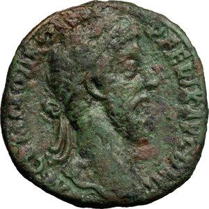 obverse: Commodus (177-192).. AE Sestertius, 186 AD