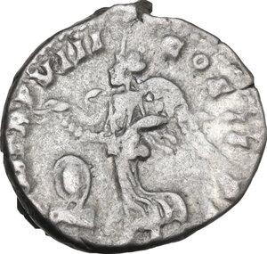 reverse: Septimius Severus (193-211).. AR Denarius, 200 AD