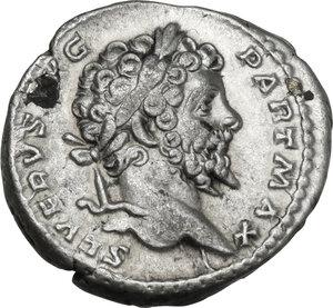 obverse: Septimius Severus (193-211).. AR Denarius, 200-201 AD