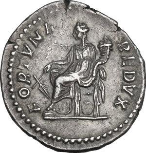 reverse: Septimius Severus (193-211).. AR Denarius, 202-203