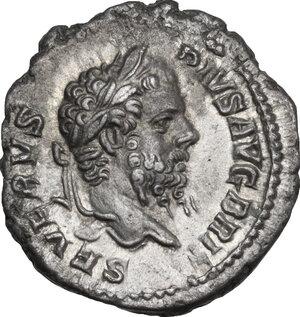 obverse: Septimius Severus (193-211).. AR Denarius, 210-211 AD