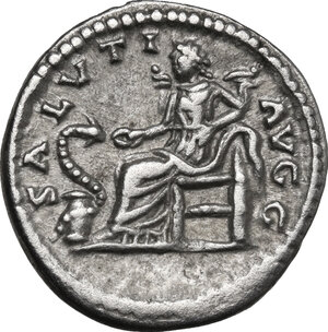 reverse: Septimius Severus (193-211).. AR Denarius, Laodicea ad Mare, 198