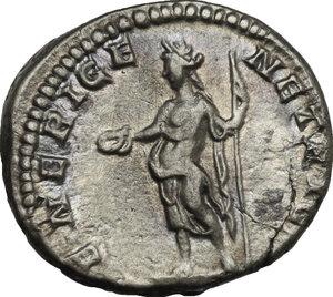 reverse: Julia Domna, wife of Septimius Severus (died 217 A.D.).. AR Denarius