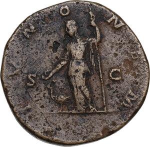 reverse: Julia Domna (died 217 AD).. AE Sestertius, 211-217