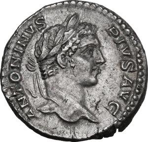 obverse: Caracalla (198-217).. AR Denarius, 206 AD