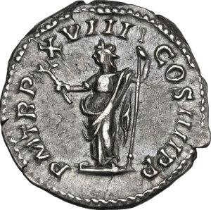reverse: Caracalla (198-217).. AR Denarius, 215 AD