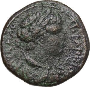 obverse: Caracalla (198-217). AE 26 mm. Nicopolis ad Istrum mint, Moesia Inferior
