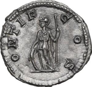reverse: Geta as Caesar (198-209).. AR Denarius, 203-208 AD