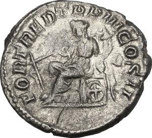 reverse: Geta (209-212).. AR Denarius, 211 AD