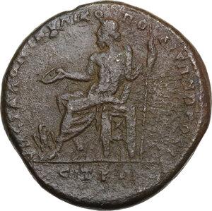 reverse: Macrinus (217-218).. AE 26.5 mm. Nicopolis ad Istrum, Moesia Inferior
