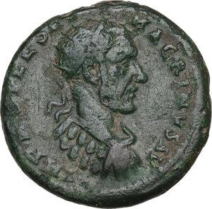 obverse: Macrinus (217-218).. AE 23 mm. Deultum mint, Thrace, 217-218 AD