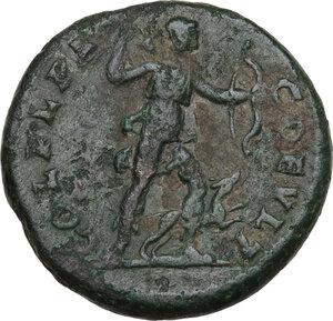 reverse: Macrinus (217-218).. AE 23 mm. Deultum mint, Thrace, 217-218 AD