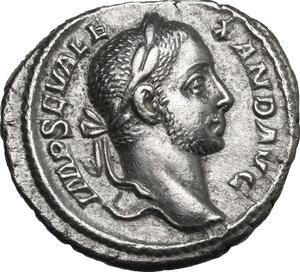 obverse: Severus Alexander (222-235 AD).. AR Denarius, 228 AD