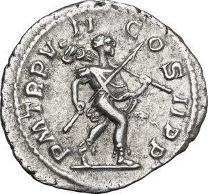 reverse: Severus Alexander (222-235 AD).. AR Denarius, 228 AD