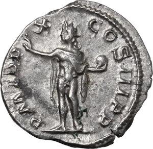 reverse: Severus Alexander (222-235 AD).. AR Denarius, 231 AD