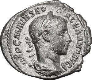 obverse: Severus Alexander (222-235 AD).. AR Denarius, c. 233-235 AD