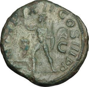 reverse: Severus Alexander (222-235 AD).. AE Sestertius, 223 AD