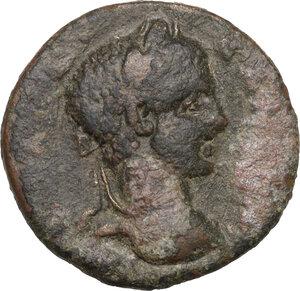 obverse: Severus Alexander (222-235).. AE 24 mm. Alexandria Troas mint (Troas)