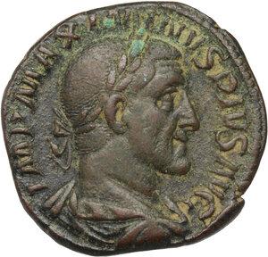 obverse: Maximinus I (225-238).. AE Sestertius, 235-236
