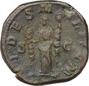reverse: Maximinus I (225-238).. AE Sestertius, 235-236