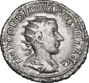obverse: Gordian III (238-244).. AR Antoninianus, 240 AD