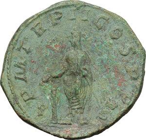reverse: Gordian III (238-244 ).. AE Sestertius, 3rd issue, 240 AD
