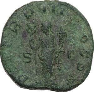 reverse: Philip I (244-249).. AE Sestertius, 247 AD