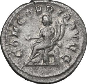 reverse: Otacilia Severa, wife of Philip I (244-249).. AR Antoninianus, Rome mint