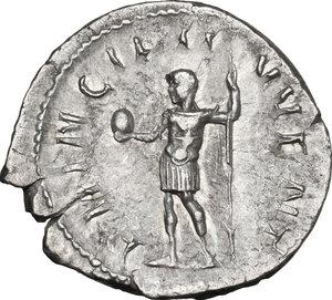 reverse: Philip II as Caesar (244-247).. AR Antoninianus, Rome mint