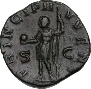 Philip II (244-249).. AE Sestertius, 244-246