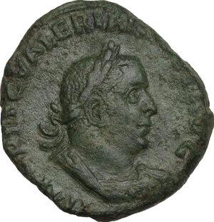 Valerian I (253-260).. AE Sestertius, Rome mint