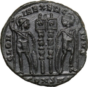 Constantine I (307-337).. AE Follis, Constantinople mint