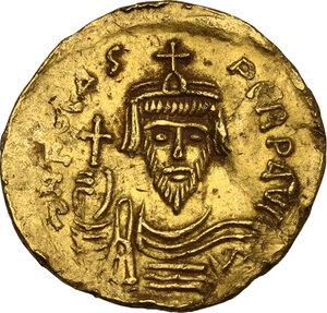 Phocas (602-610).. AV Solidus, Constantinople mint, 607-610 AD
