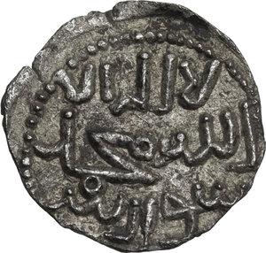 obverse: Entella.  Muhammad Ibn  Abbad (1220).. Denaro
