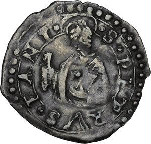 reverse: Fano.  Gregorio XIII (1572-1585), Ugo Boncompagni.. Quattrino