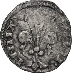 obverse: Firenze.  Repubblica (1189-1532).. Quattrino 1371-1373, maestro di zecca sconosciuto